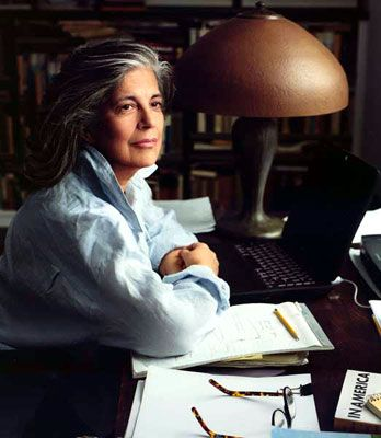 """My library is an archive of longings."" — 	 Susan Sontag, As Consciousness is Harnessed to Flesh: Journals and Notebooks, 1964-1980.- (Photo credit/copyright: Annie Leibovitz, courtesy of the artist)"