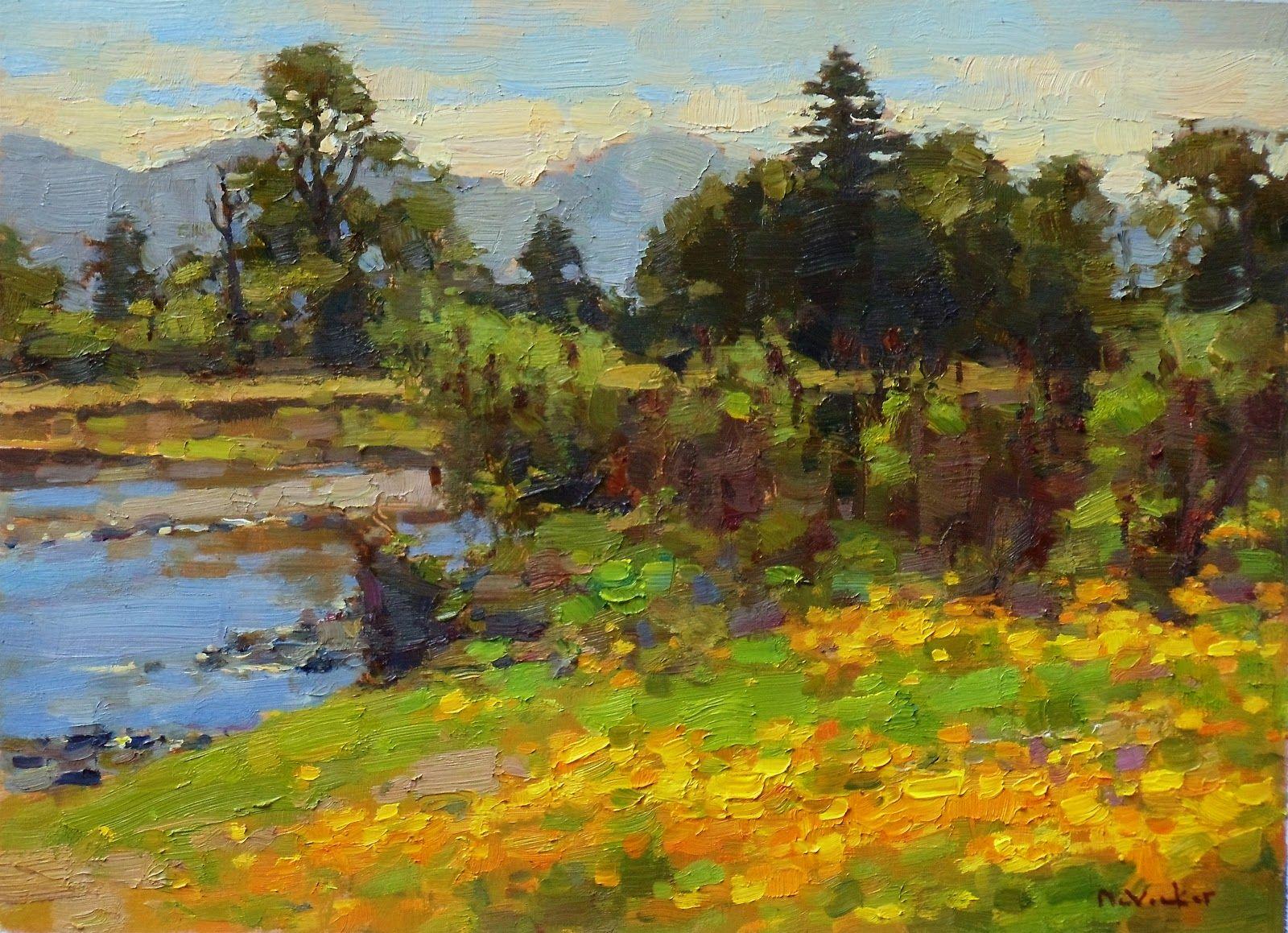 Jim McVicker Paintings: Recent Landscape Paintings ...