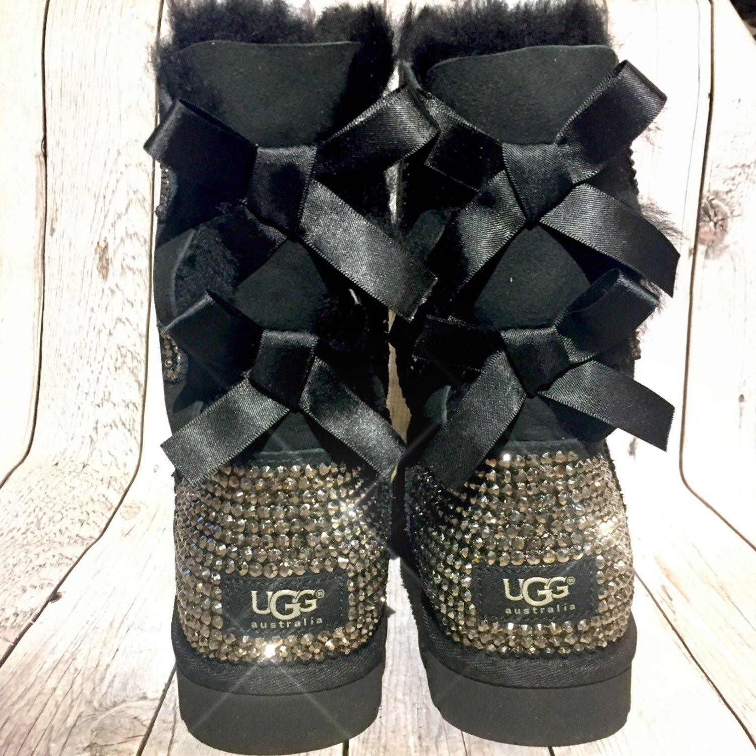 0caf0ecd6c6 Pin by Danielle Donati on DAM Fancy Creations | Ugg boots with bows ...