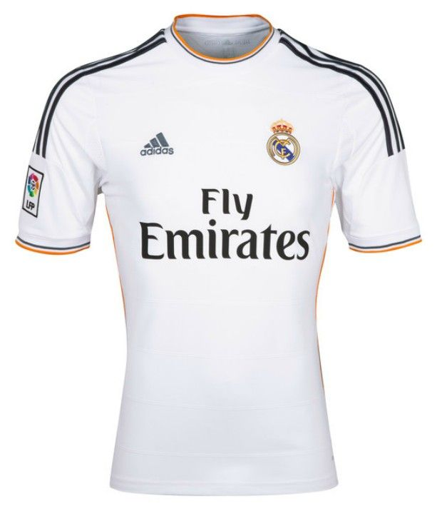 54d68df78b 13-14 Real Madrid Home Soccer Jersey Shirt