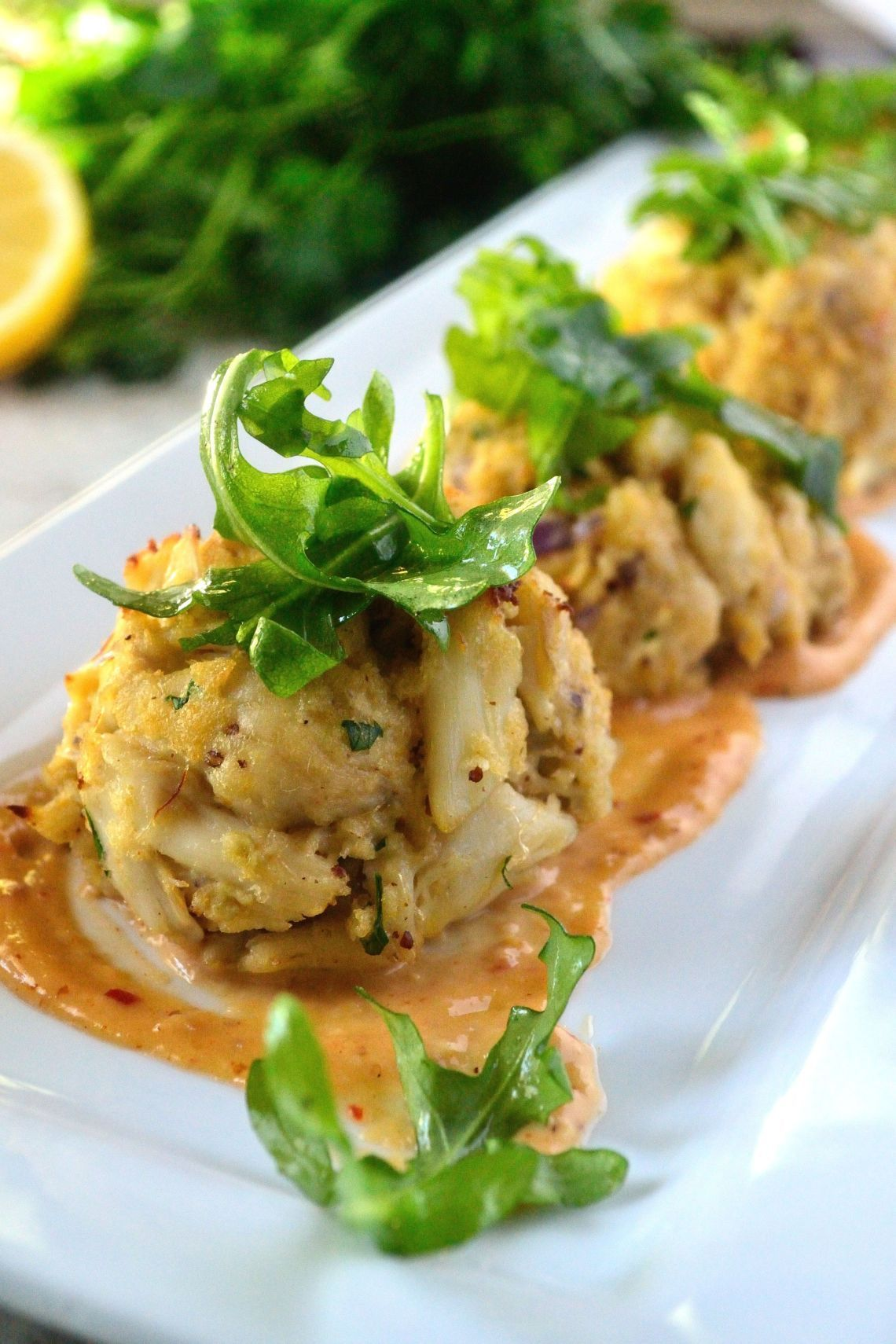 Crab cakes with spicy creole mustard aioli recipe