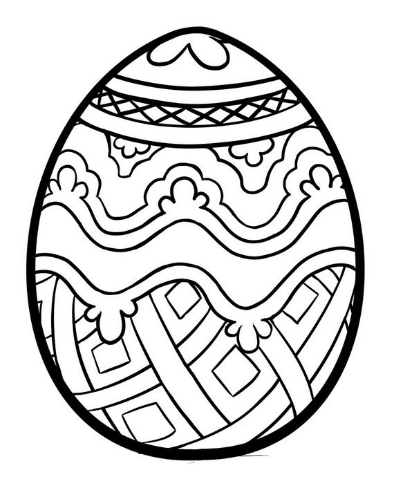 easter mosaic coloring pages - photo#15