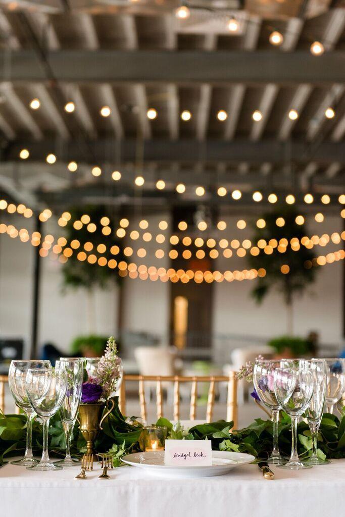 Low Cost Romantic Modern Chic Wedding Ideas Washington Dc Weddings