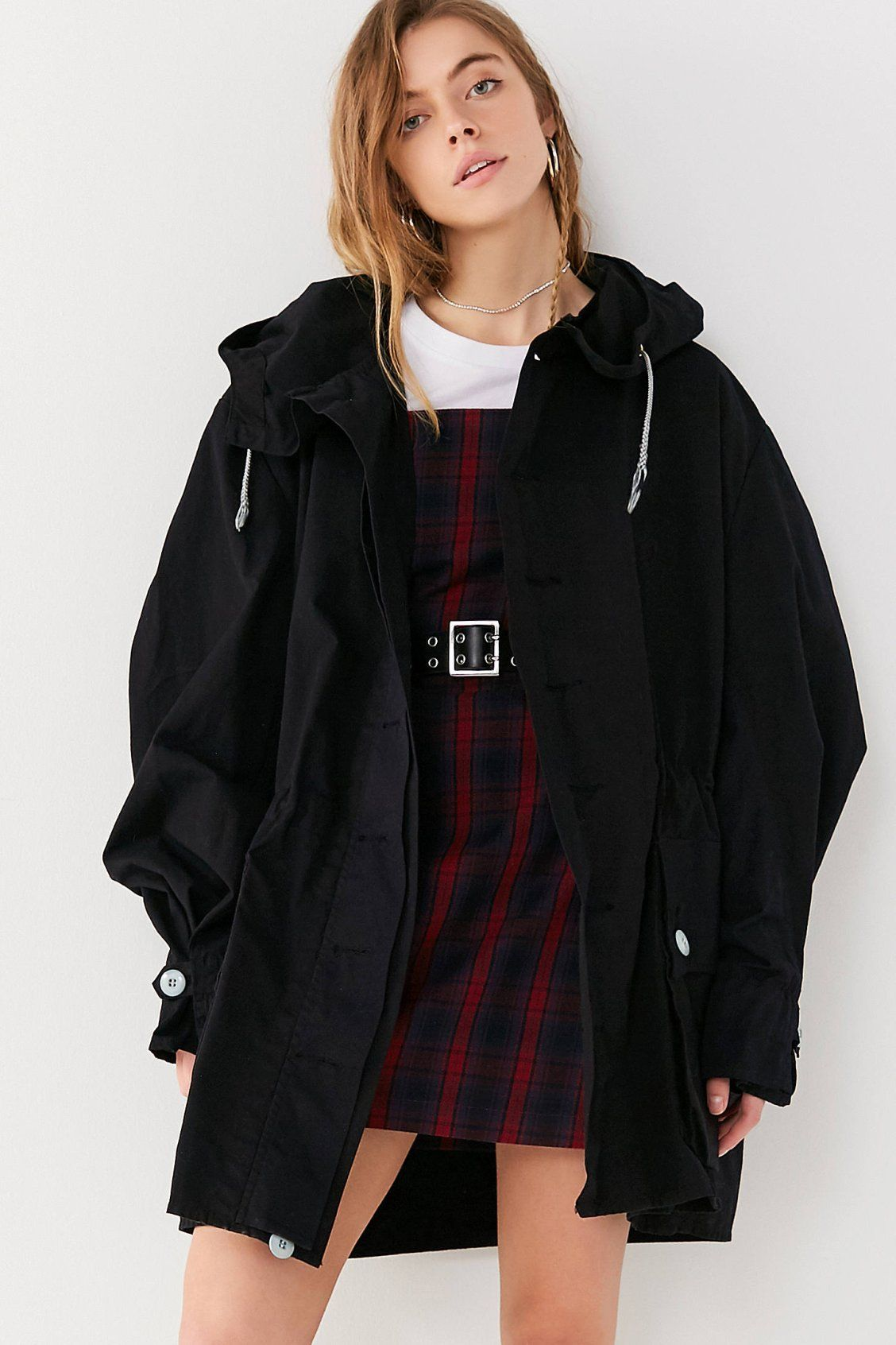 037334d4546a8 Vintage Oversized Snow Parka Coat