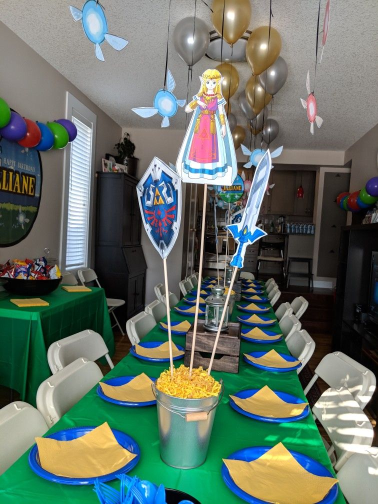 Zelda Birthday Party Unique Ideas And Themes