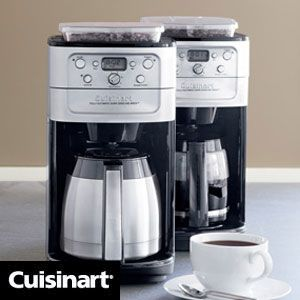 Cuisinart Coffee Maker with Grinder is quite popular for its convenience and practicability in use.