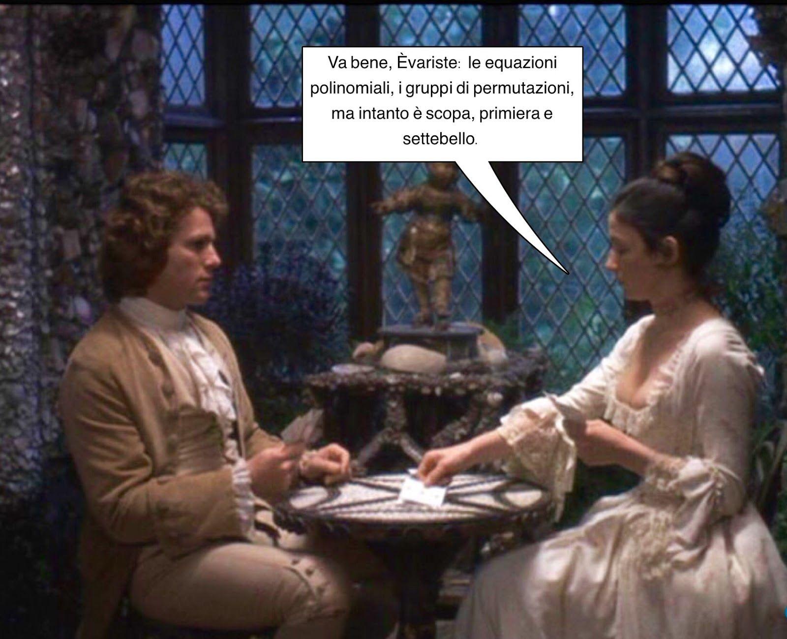 Galois #mattamatica. Knowing that Evariste Galois was