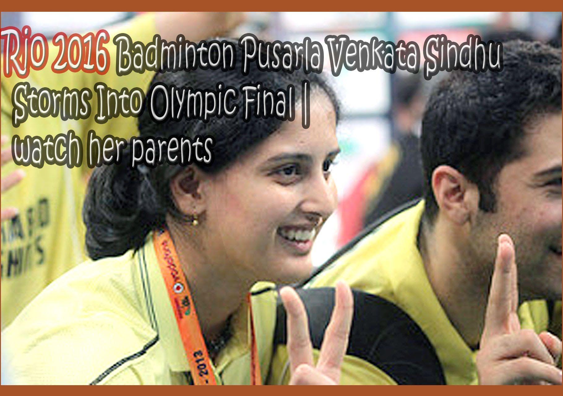 Pusarla Venkata Sindhu born 5 July 1995 is an Indian badminton