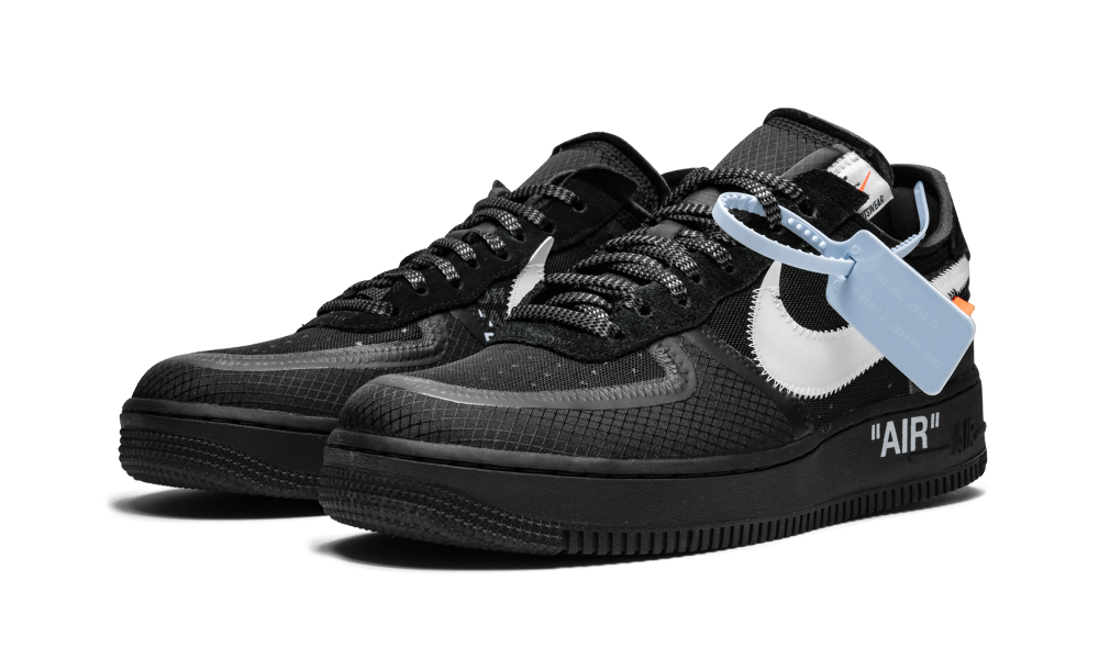 """The 10 Nike Air Force 1 Low """"OffWhite Black"""" AO4606"""