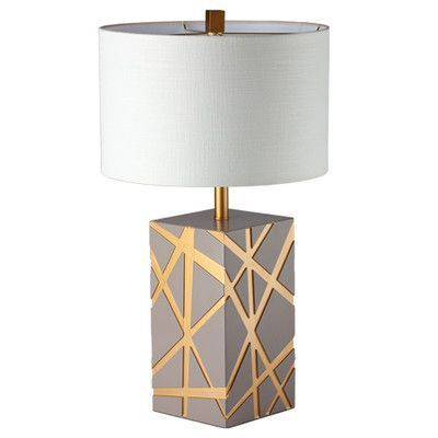 """Ziqi Home Wood Wonder ITO Tree 29"""" Table Lamp Base Color: Beige"""