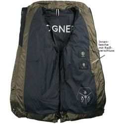 Photo of Bogner down jacket hombres, microfibra, verde Bogner