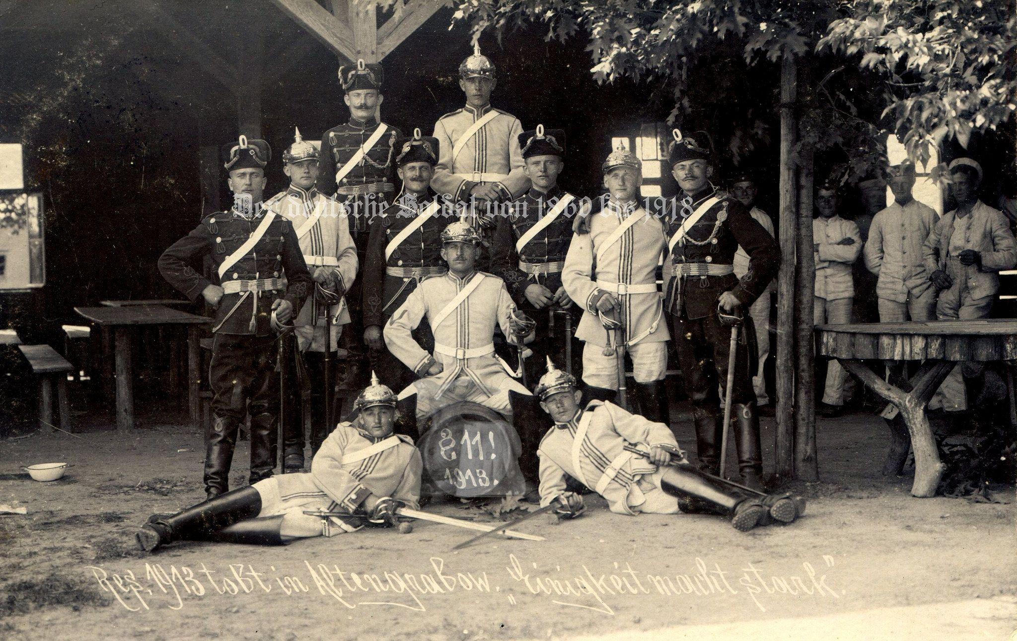 https://flic.kr/p/pWgXko   Kürassier-Regiment Kaiser Nikolaus I. von Rußland (Brandenburgisches) Nr. 6 (Brandenburg a.d. Havel) und Magdeburgisches Husaren-Regiment Nr. 10 (Magdeburg) in Altengrabow