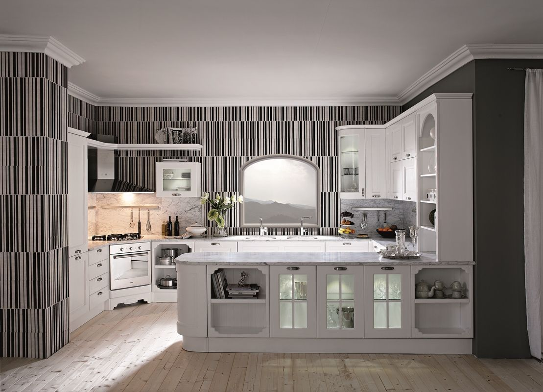 Enhance your Kitchen Look with Wallpaper Borders | Italian ...