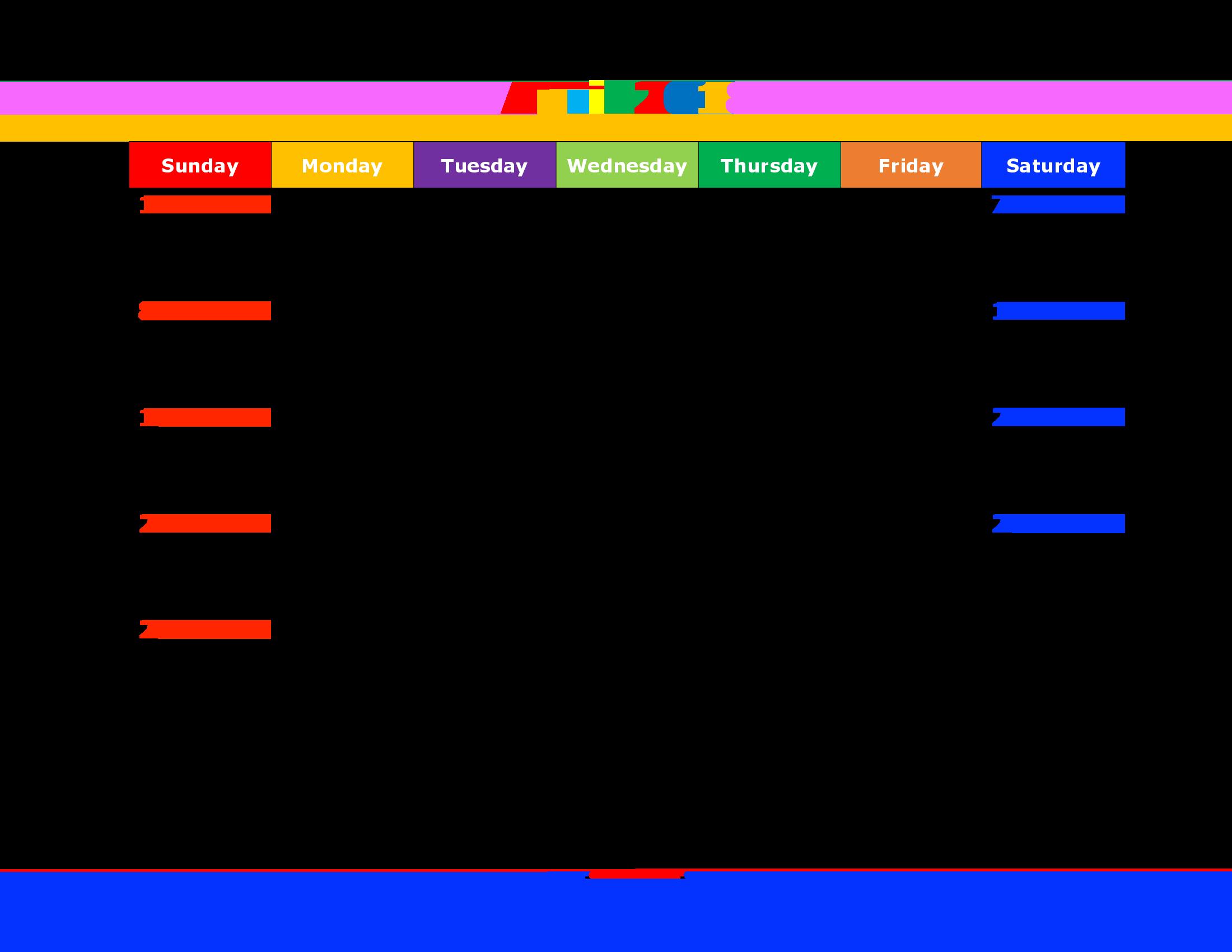 kalender template