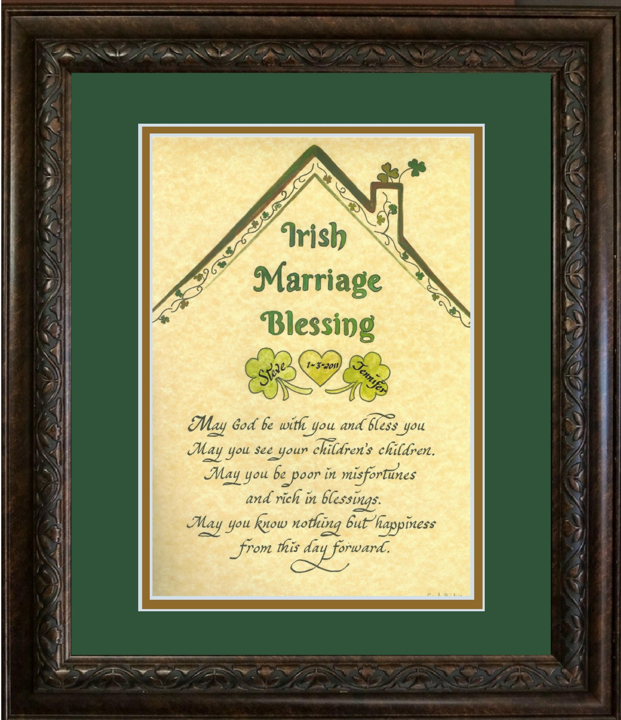 Pin On Irish Gifts For Home Wedding Friends And Family