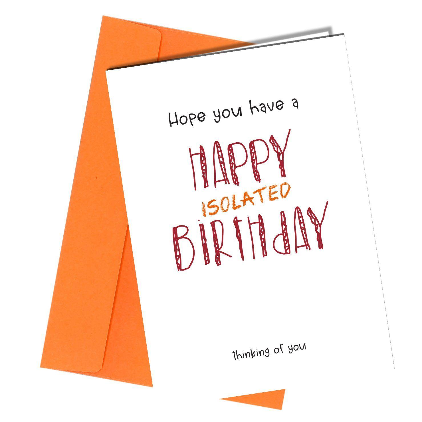 #1300 Isolated Birthday