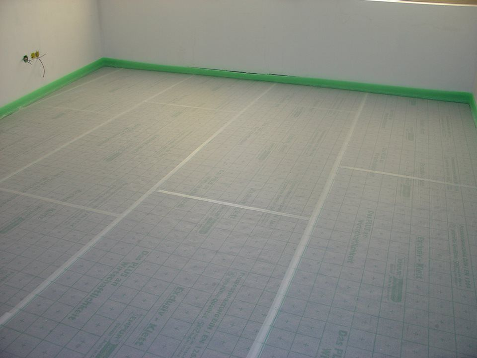 Piso radiante EMPUR/ EMPUR underfloor heating