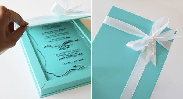 1000 Ideas About Wedding Invitation Keepsake On Pinterest: Unique Tiffany Blue Keepsake Wedding Invitations