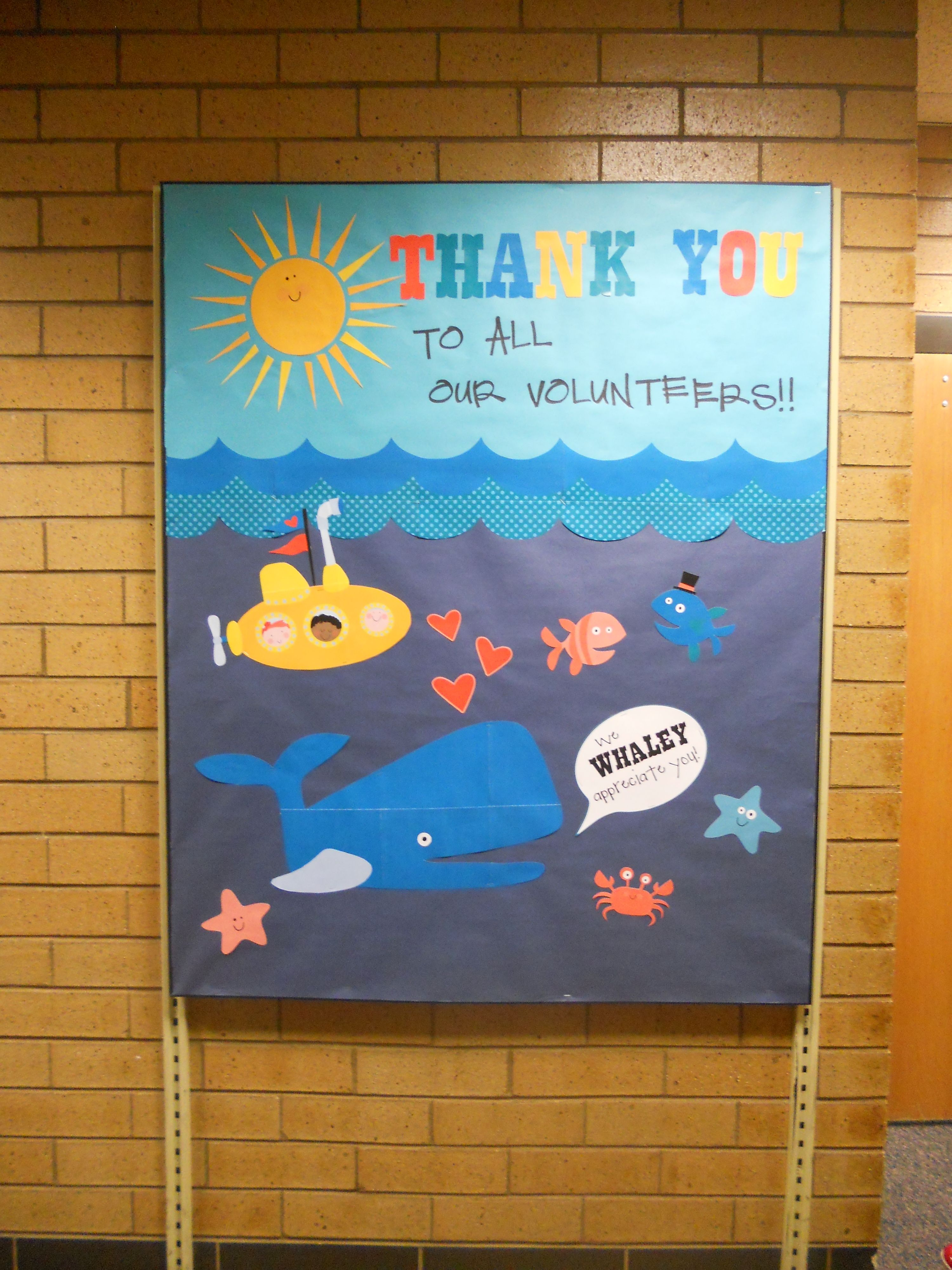 Years Volunteer Appreciation Board. Clip