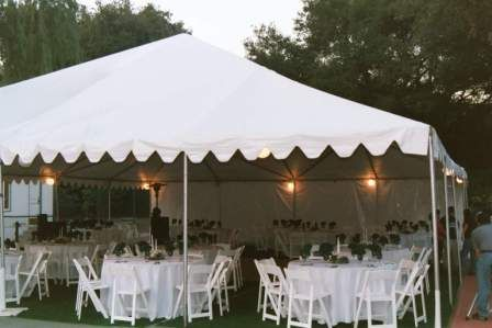 Outdoor wedding canopy ideas wedding tent rental ideas for Outdoor party tent decorating ideas