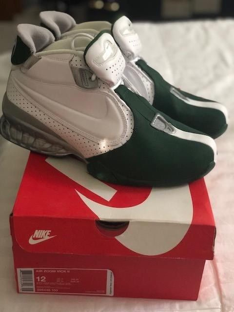 f0ba257bdf81 Nike Air Zoom Michael Vick II Jets Size 12  fashion  clothing  shoes   accessories  mensshoes  athleticshoes (ebay link)