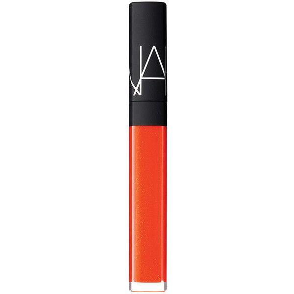 NARS Wonder Lip Gloss - Wonder (£18) ❤ liked on Polyvore featuring beauty products, makeup, lip makeup, lip gloss, beauty, lips, accessories, wonder, nars cosmetics and lip shine