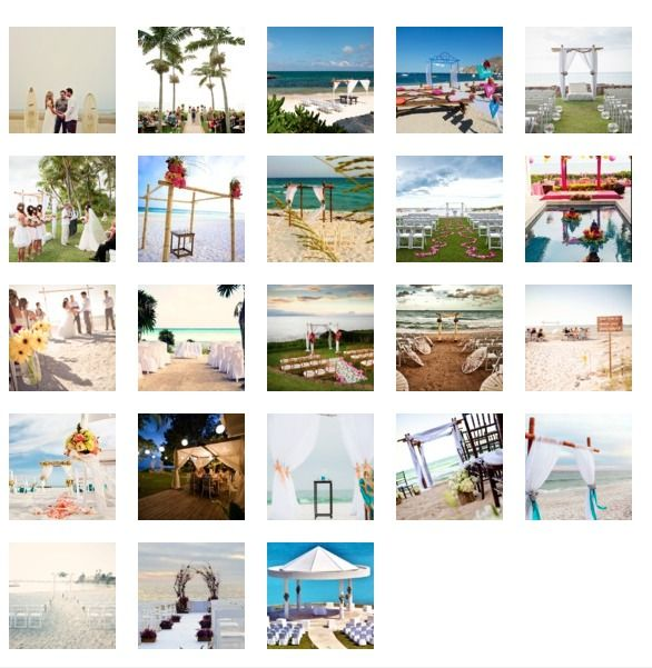 #beach weddings for the win...