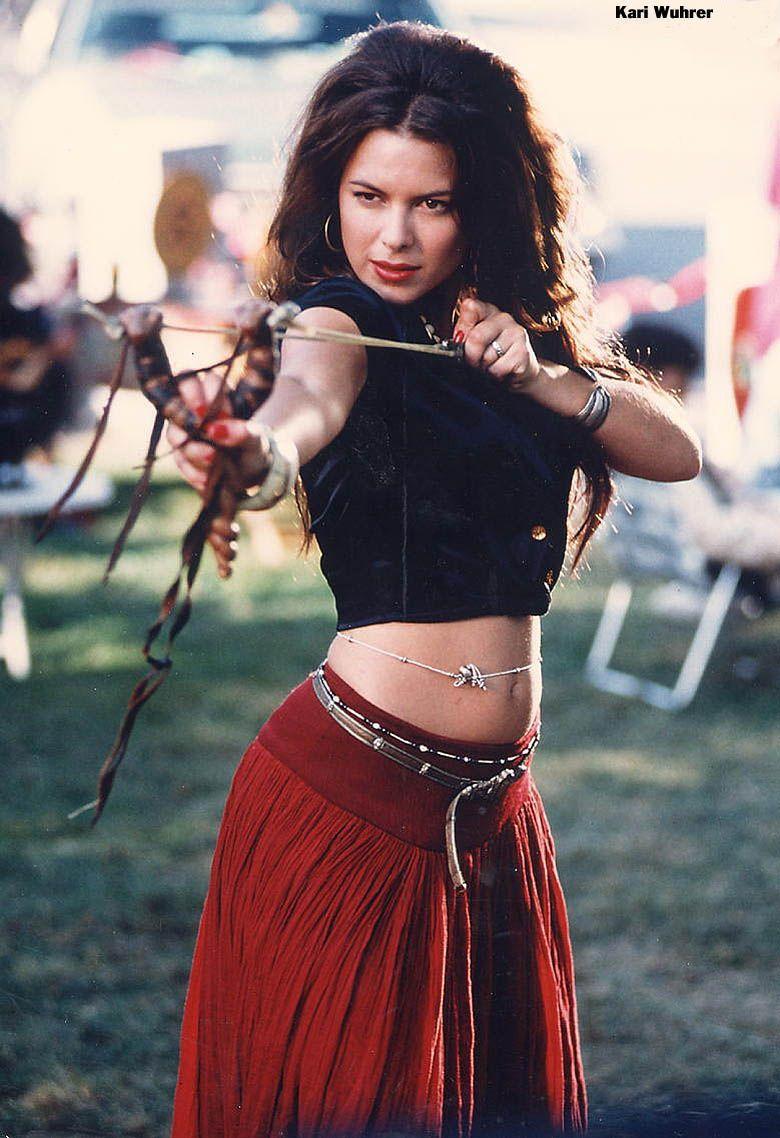 Kari Wuhrer Beautiful Celebrities Beautiful Actresses Beautiful Women Crazy Outfits Cool Outfits