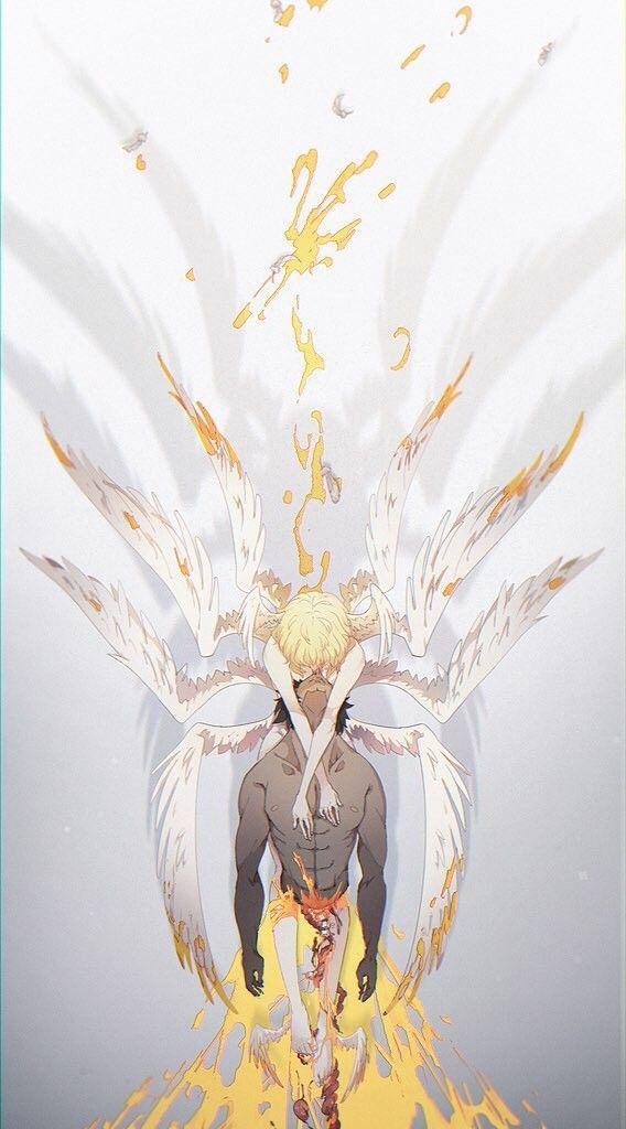 Ryo Asuka Satan Akira Fudo Devilman Devilman Crybaby Cry Baby Anime Wallpaper