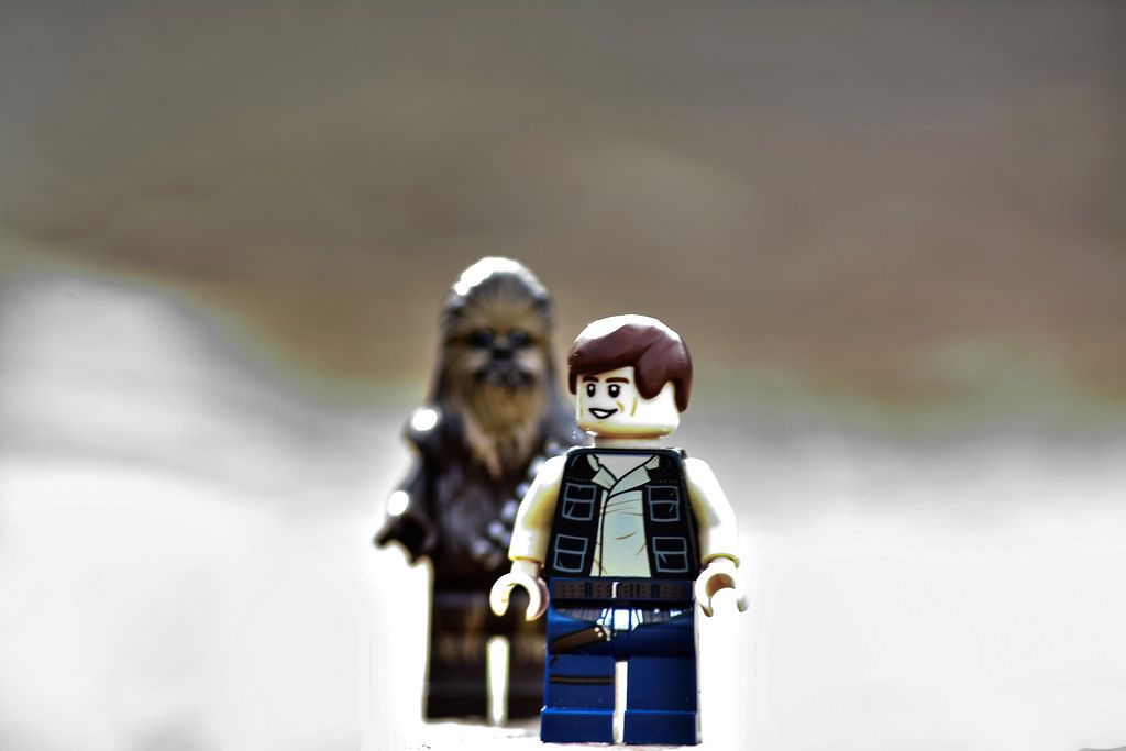 Han waiting for Chewie http://www.flickr.com/photos/139451439@N02/25410717120/