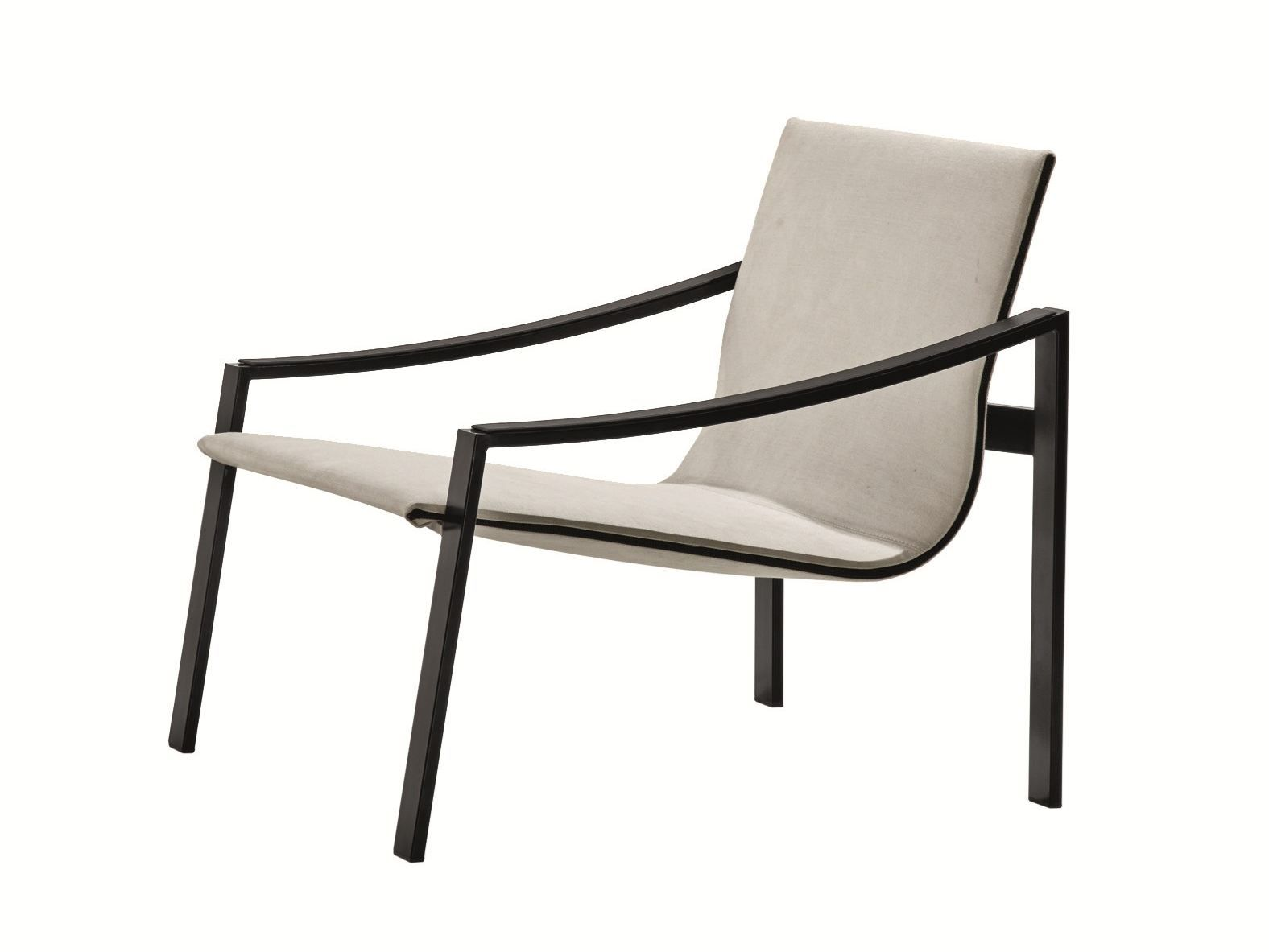 Metal Armchair With Armrests ALLURE   MOLTENI ...