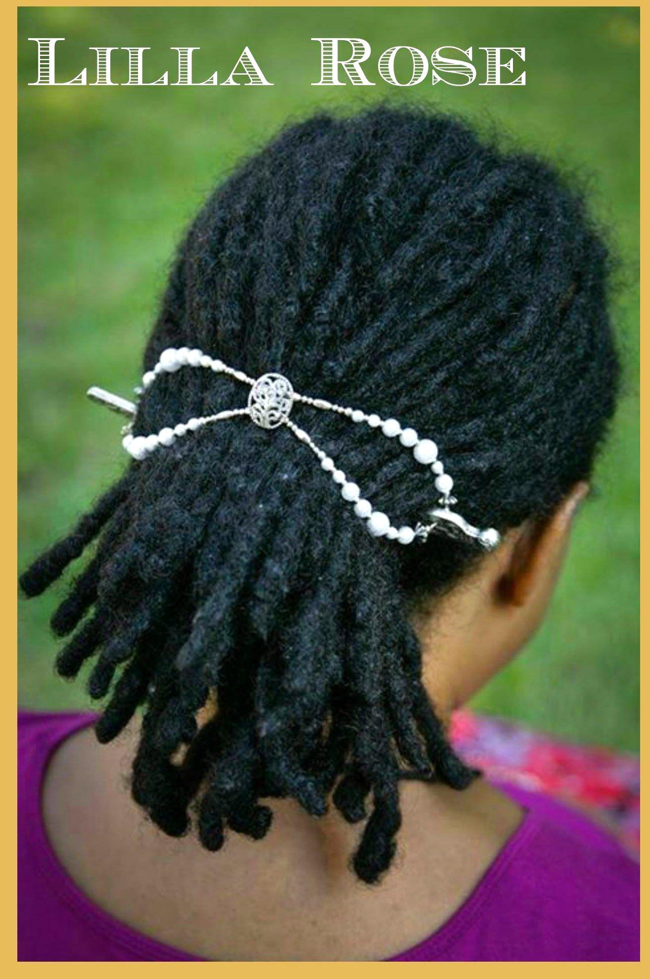 Everyone can wear their hair up with comfort wwwlillarosebiz