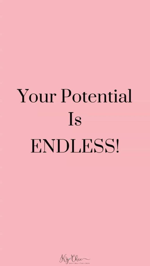 What is potential and How to achieve it.