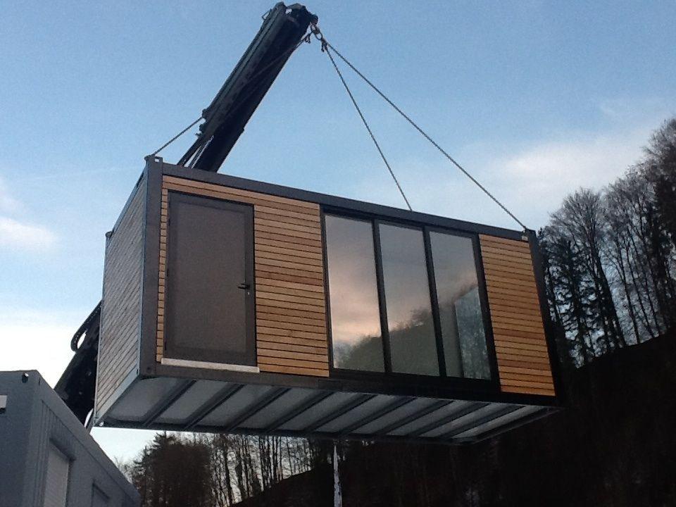 Wir zeigen Ihnen wie Sie einen Container zum Gartenhaus