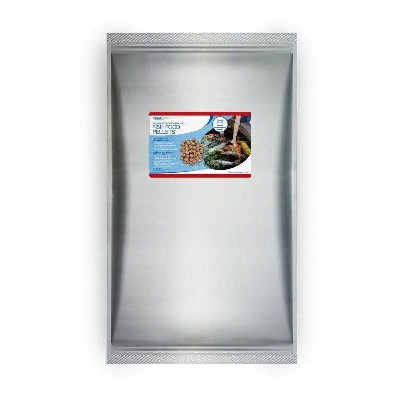 Aquascape premium color enhancing fish food large pellets
