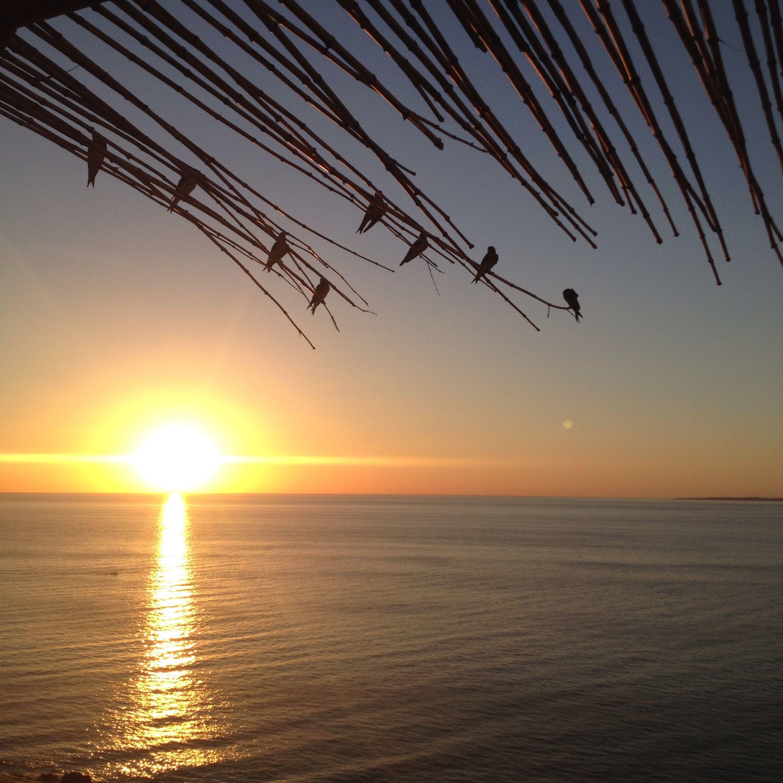 Sunset at Casa Pueblo - Punta Ballena - Uruguay