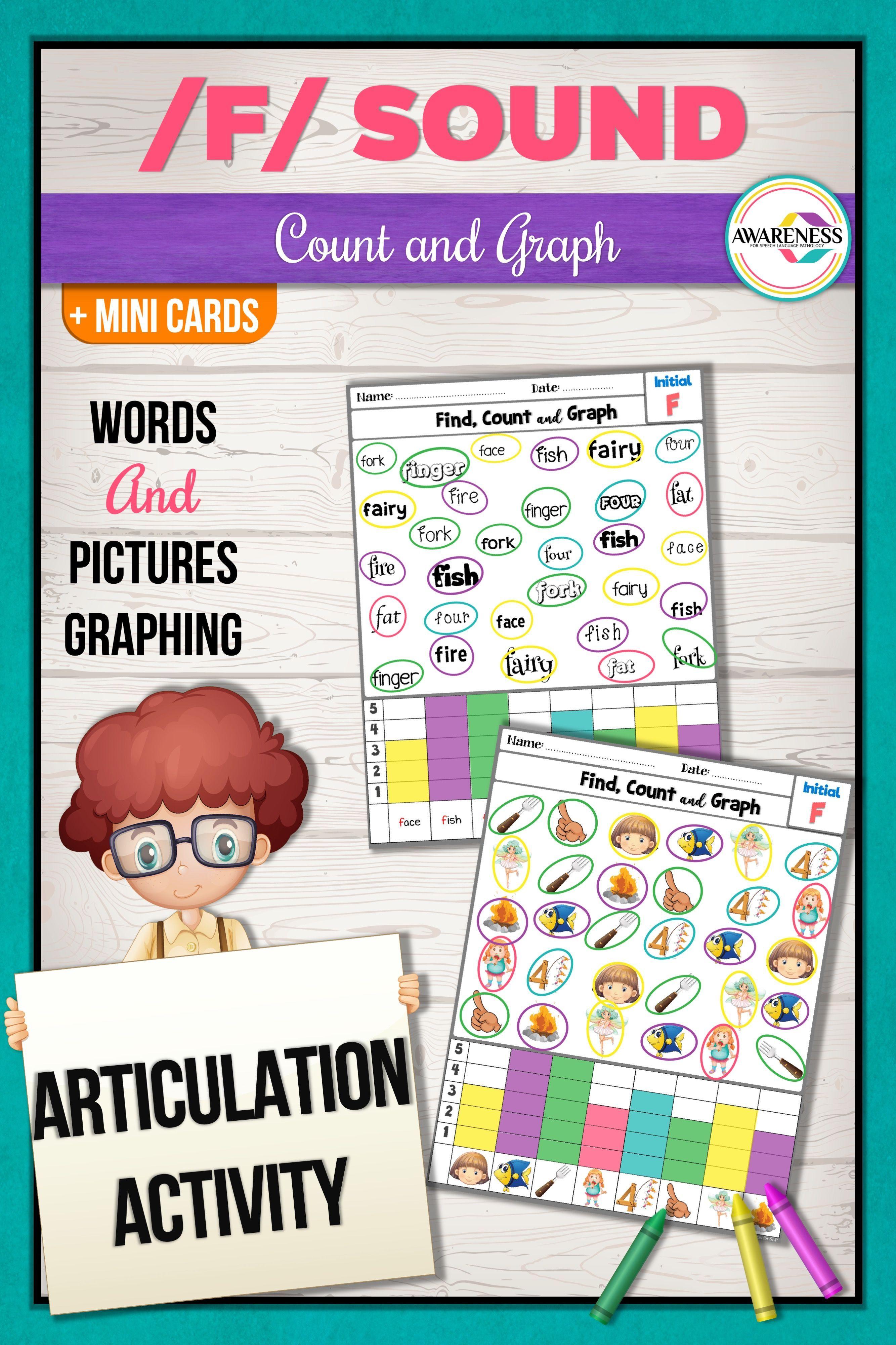 F Articulation Worksheets