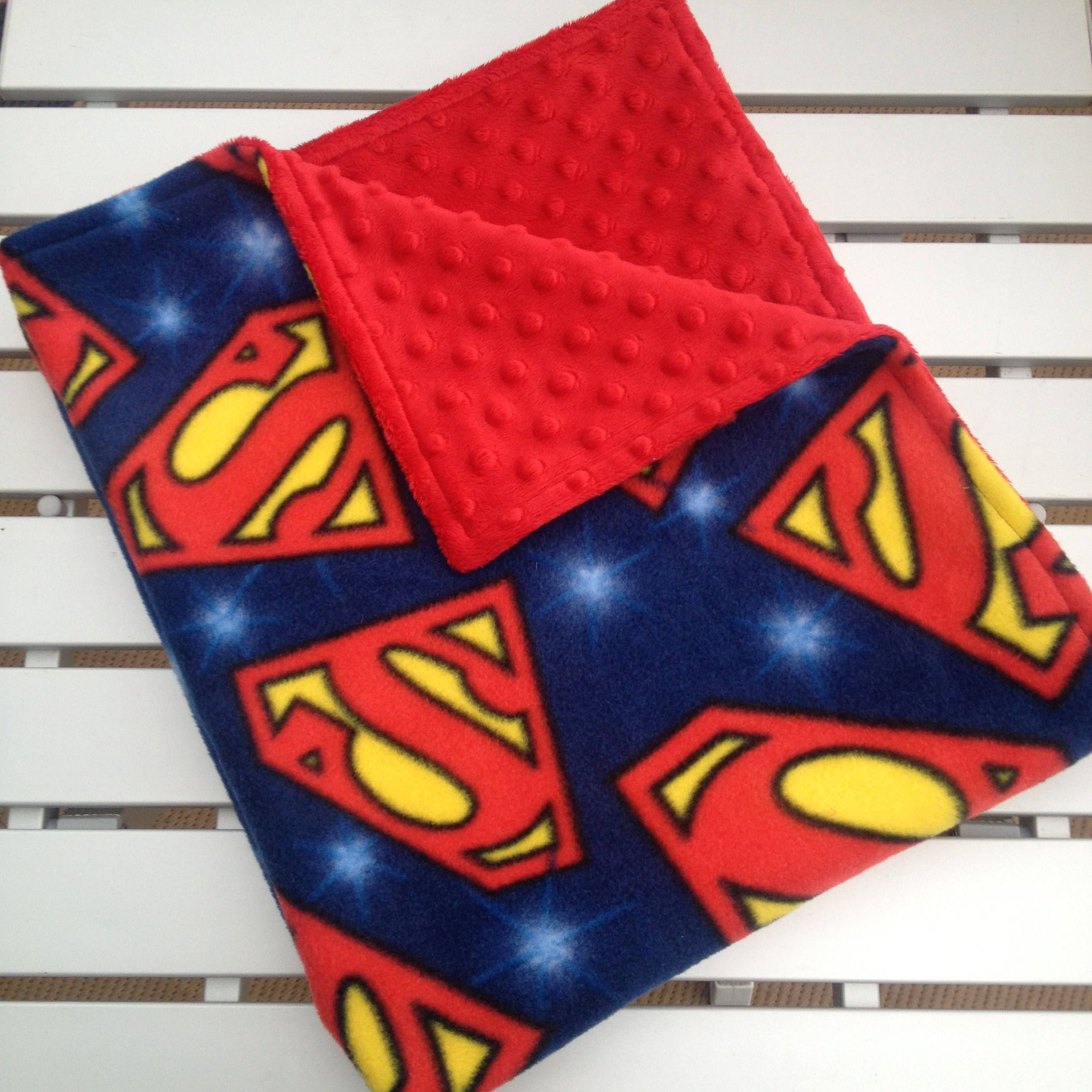 15d54c62fb Superman Baby Blanket