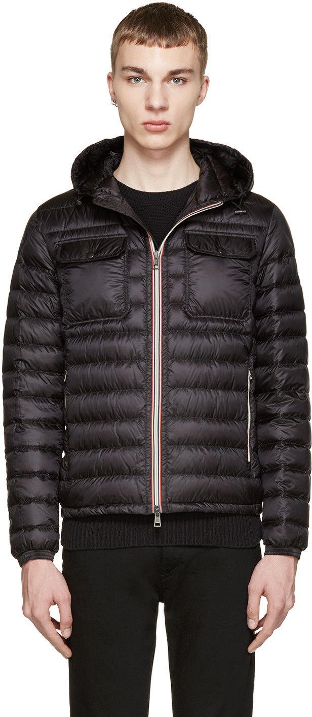 moncler douret jacket black