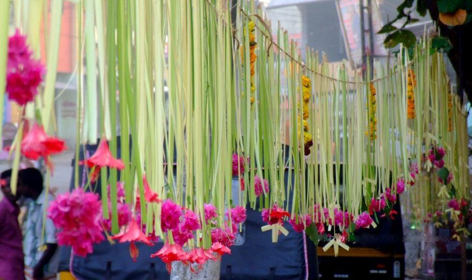 Palm Leaf Decorations Flower Decorations Leaf Decor Palm Tree Decorations