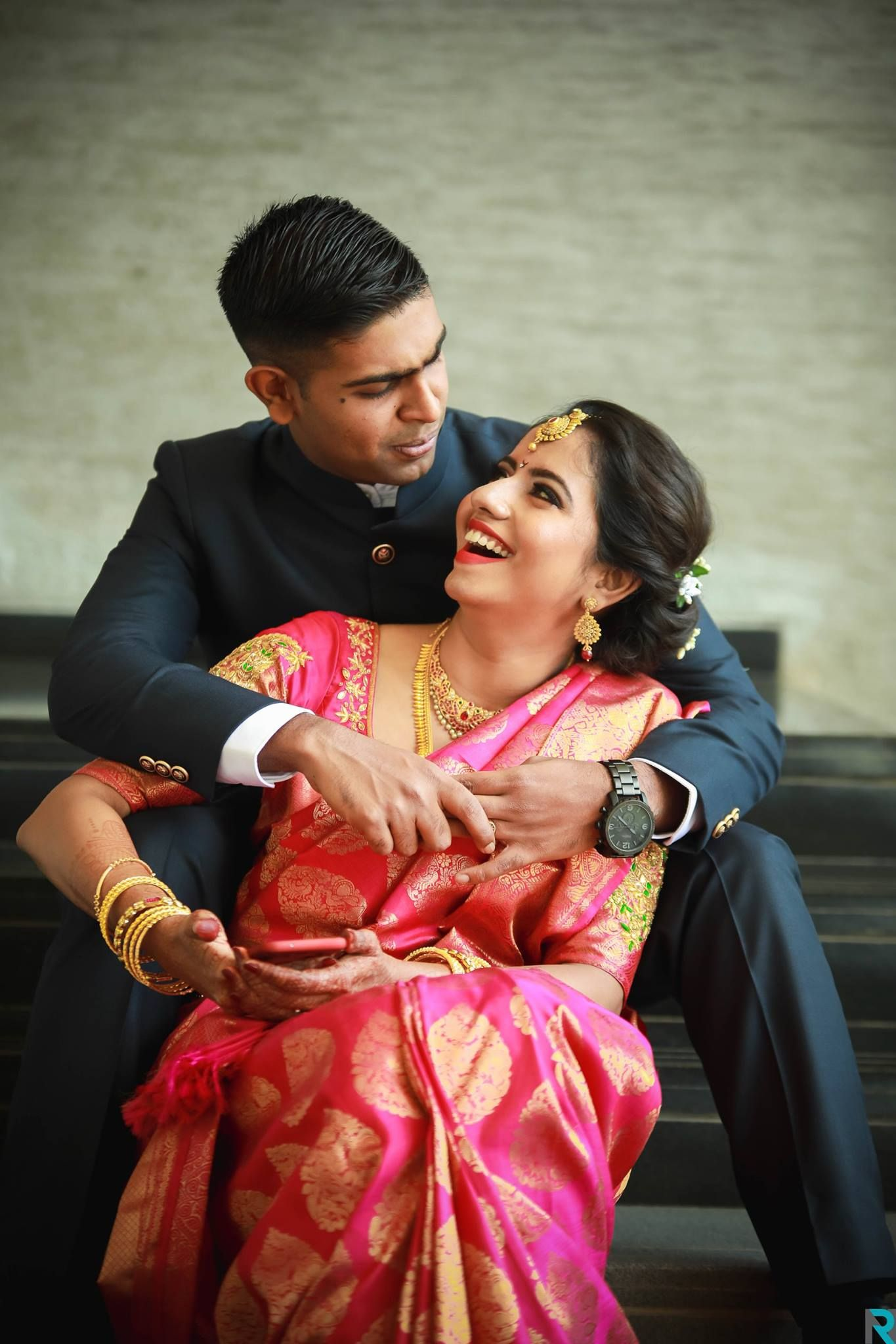 My work media coverage indian engagement photos engagement saree indian wedding photos