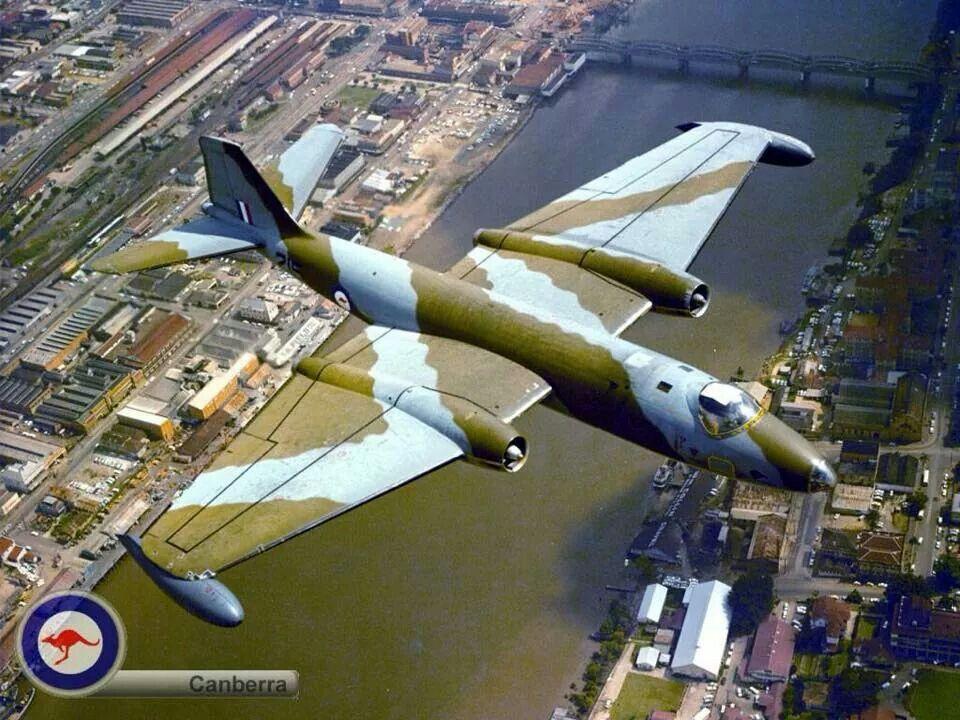 Canberra Bomber Royal australian air force