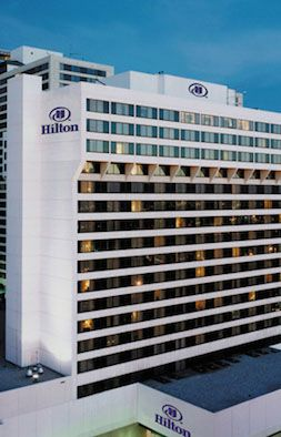 Hotel Hilton, Salt Lake City..