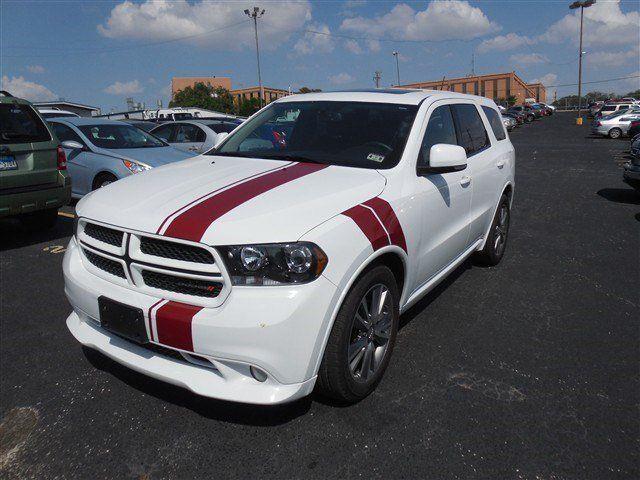 2013 Dodge Durango Bright White For Sale in San Antonio