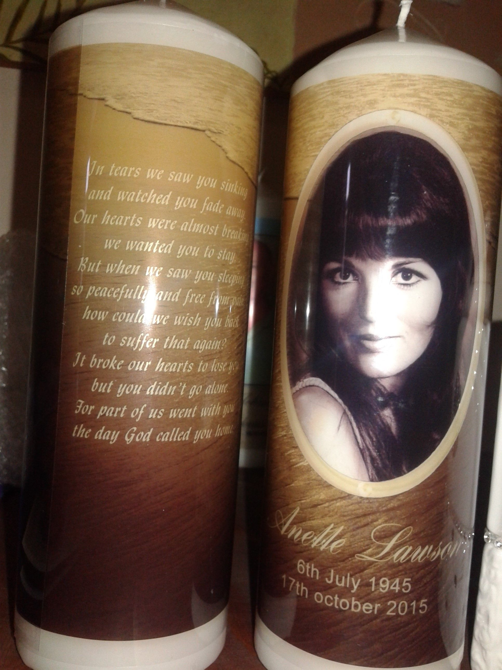 Personalised memorial candles made by mfg mosaic funeral group personalised memorial candles made by mfg mosaic funeral group amanzimtoti tel 031 903 5423 izmirmasajfo