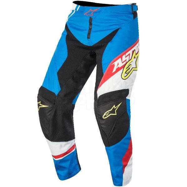 2016 Alpinestars Kids Racer Supermatic Pants - Blue Red White