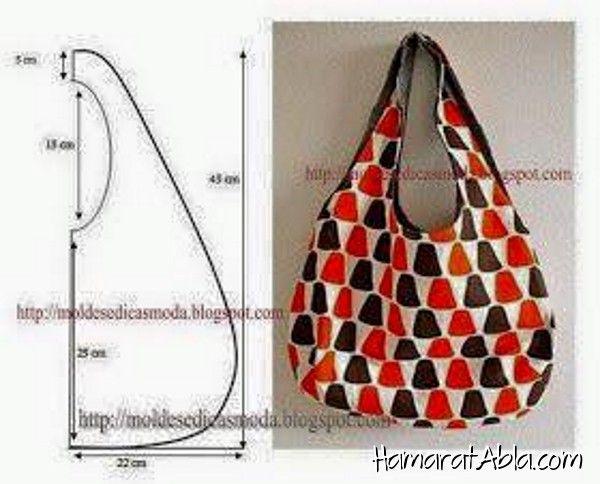 Pour ceux qui veulent faire leur propre sac élégant et cool plein 22 agréable …   – Denenecek Projeler