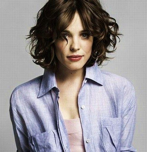 Rachel Mcadams Short Hair In 2018 Pinterest Hair Curly Hair