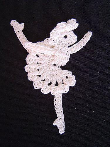 Ravelry: Ballerina motif pattern by Chinami Horiba