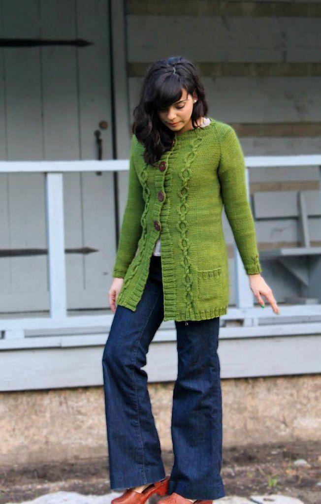 Full Circle Cardigan Pinterest Knit Patterns Ice Scraper And